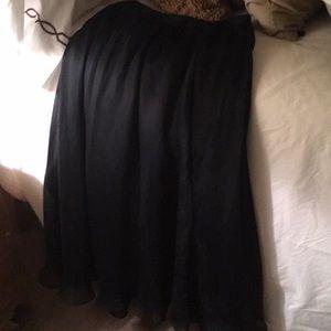 Chiffon formal skirt